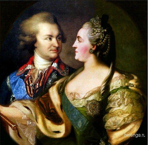 Екатерина Великая и Потемкин