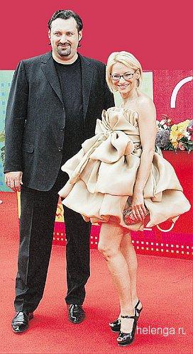 Эвелина Хромченко с мужем