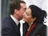 Ирина Винер и Дмитрий Медведев