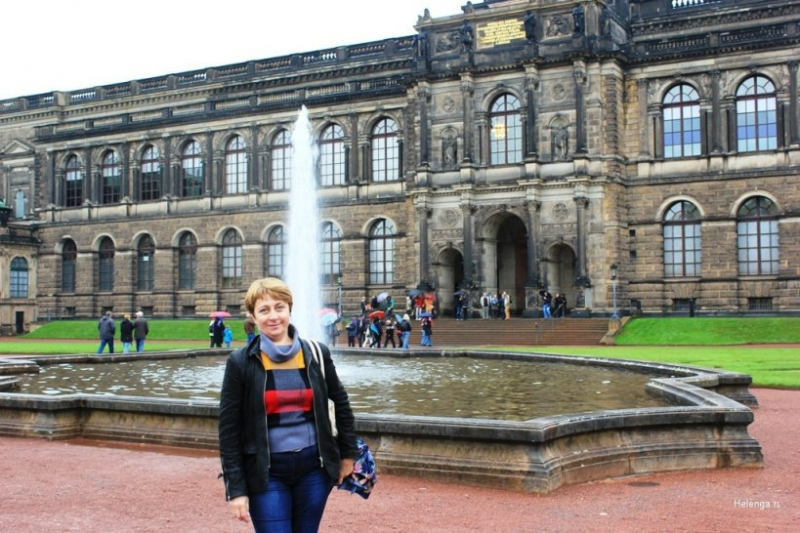 В Дрездене