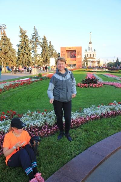 """После забега """" We run Moscow 2015"""""""