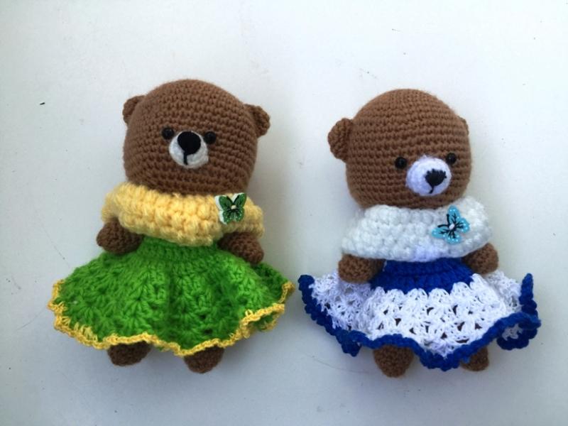 Медвежата для сестричек