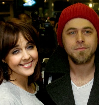Ольга Шелест с мужем