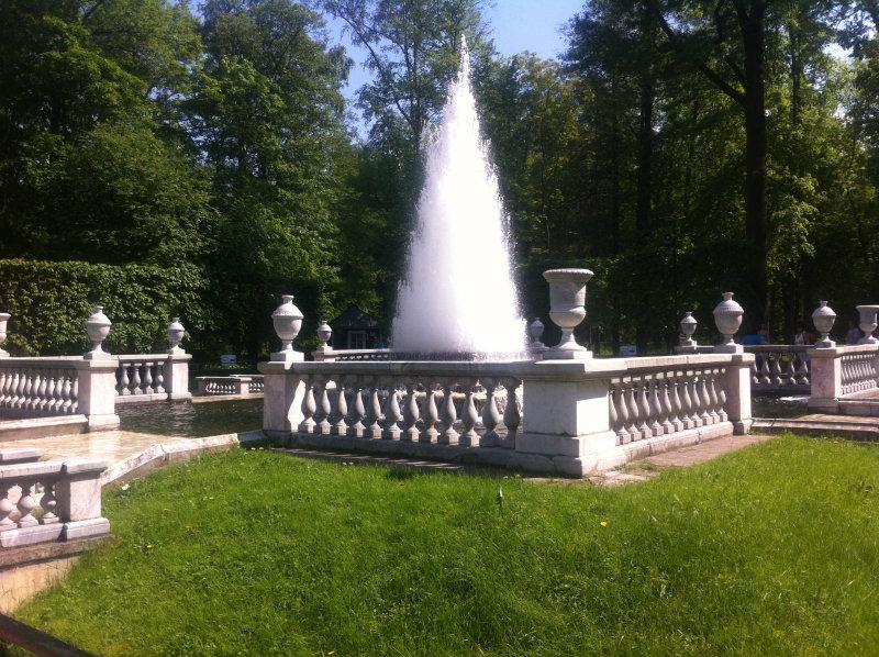 Петергоф - город белых фонтанов!