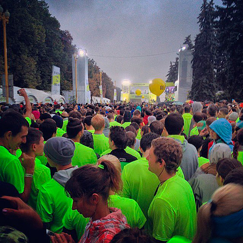 We Run Moscow 2014